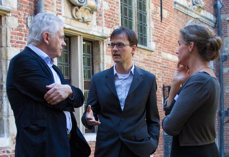 Van links naar rechts: Hans Oldewarris, Goran Proot en Karin Scheper