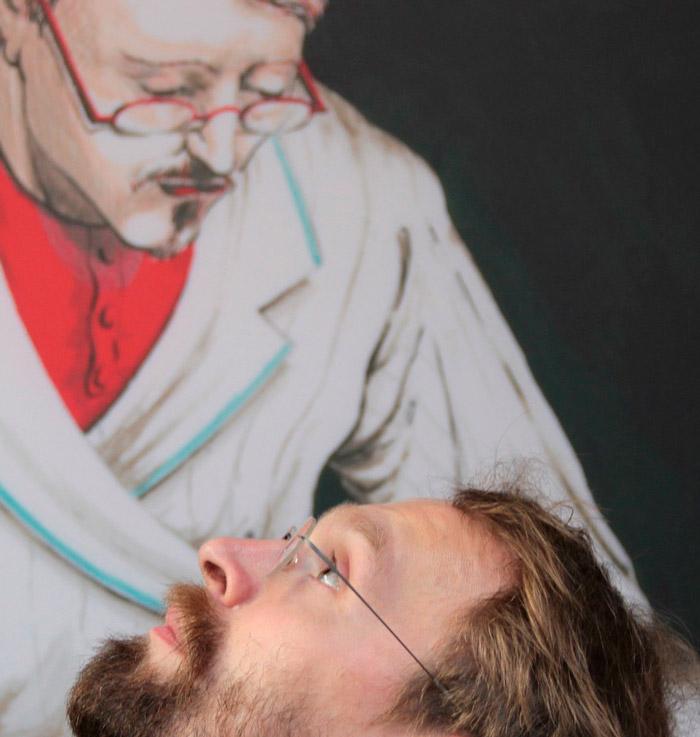 Vladimir-Ivaneanu-foto-en-zelfportret