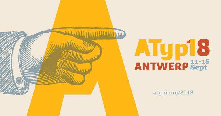 ATypI 2018 in Antwerpen