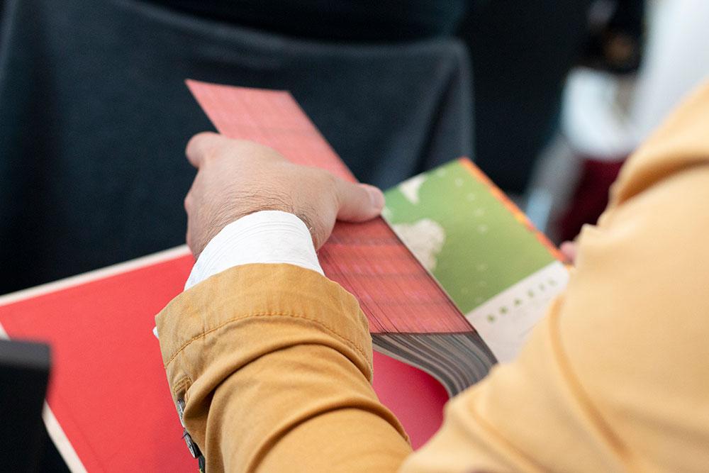 SHV-boek, ontworpen door Irma Boom, gebonden en begeleid door Gijs Wortel